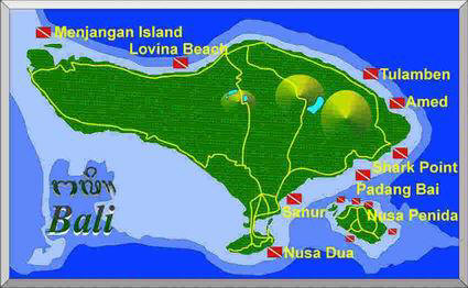 Bali Diving Sites
